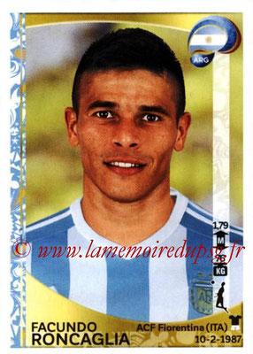 Panini Copa America Centenario USA 2016 Stickers - N° 313 - Facundo RONCAGLIA (Argentine)