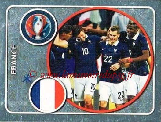 Panini Euro 2016 Stickers - N° 009 - Équipe de France