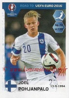 Panini Road to Euro 2016 Stickers - N° 334 - Joel POHJANPALO (Finlande)