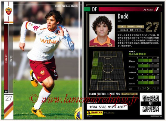 Panini Football League 2013 - PFL03 - N° 026 - Dodô (AS Roma)