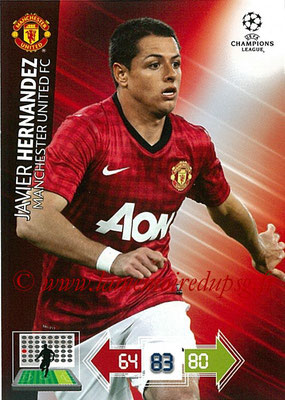 2012-13 - Adrenalyn XL champions League N° 149 - Javier HERNANDEZ (Manchester United FC)