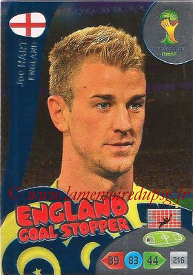 2014 - Panini FIFA World Cup Brazil Adrenalyn XL - N° 356 - Joe HART (Angleterre) (Goal Stopper)