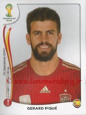 2014 - Panini FIFA World Cup Brazil Stickers - N° 112 - Gerard PIQUE (Espagne)