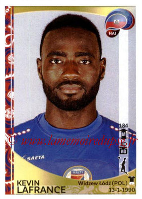 Panini Copa America Centenario USA 2016 Stickers - N° 169 - Kevin LAFRANCE (Haiti)