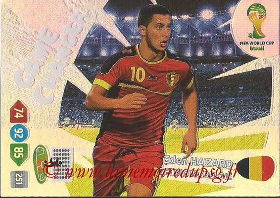 2014 - Panini FIFA World Cup Brazil Adrenalyn XL - N° 389 - Eden HAZARD (Belgique) (Game Changer)