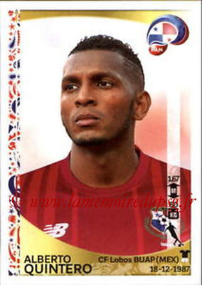 Panini Copa America Centenario USA 2016 Stickers - N° 365 - Alberto QUINTERO (Panama)