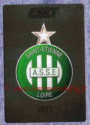 2015-16 - Panini Ligue 1 Stickers - N° 409 - Ecusson AS Saint-Etienne
