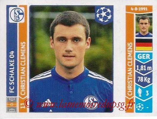 2014-15 - Panini Champions League N° 521 - Christian CLEMENS (FC Schalke 04)