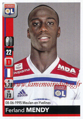 2018-19 - Panini Ligue 1 Stickers - N° 182 - Ferland MENDY (Lyon)