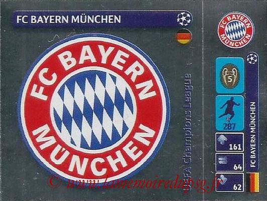 2014-15 - Panini Champions League N° 021 - Logo FC Bayern Munchen