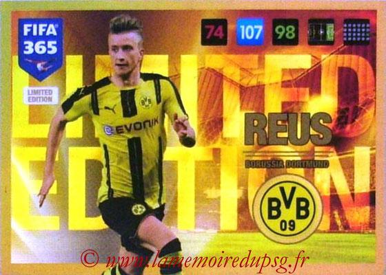 2016-17 - Panini Adrenalyn XL FIFA 365 - N° LE27 - Marco REUS (Borussia Dortmund) (Limited Edition)