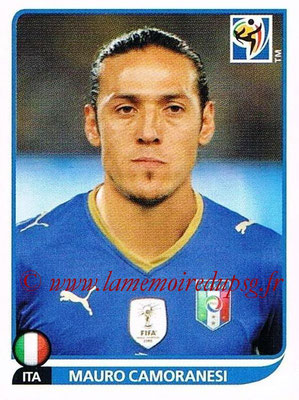 2010 - Panini FIFA World Cup South Africa Stickers - N° 424 - Mauro CAMORANESI (Italie)