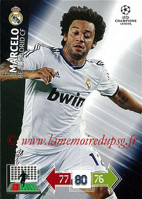 2012-13 - Adrenalyn XL champions League N° 222 - MARCELO (Real Madrid CF)