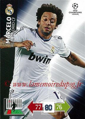 2012-13 - Adrenalyn XL champions League N° 222 - MARCELO (Real Madrid CF)