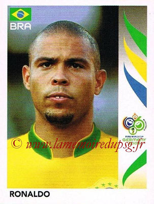 2006 - Panini FIFA World Cup Germany Stickers - N° 396 - RONALDO (Brésil)