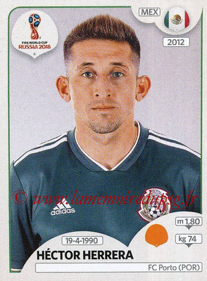 2018 - Panini FIFA World Cup Russia Stickers - N° 464 - Héctor HERRERA (Mexique)