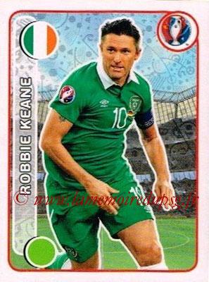 Panini Euro 2016 Stickers - N° 537 - Robbie KEANE (République d'Irlande)