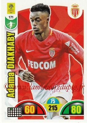 2018-19 - Panini Adrenalyn XL Ligue 1 - N° 171 - Adama DIAKHABY (Monaco)