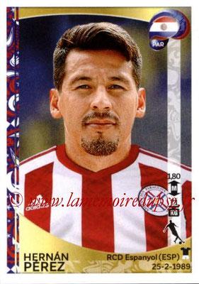 Panini Copa America Centenario USA 2016 Stickers - N° 097 - Hernan PEREZ (Paraguay)