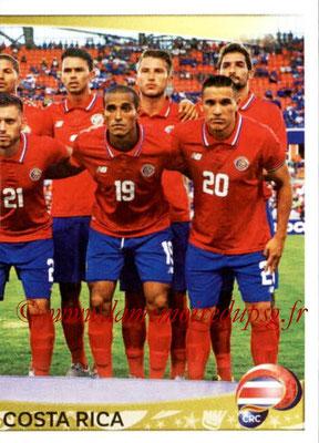 Panini Copa America Centenario USA 2016 Stickers - N° 064 - Equipe Costa Rica 2