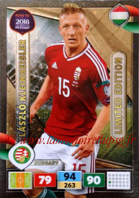 2018 - Panini Road to FIFA World Cup Russia Adrenalyn XL - N° LE-LK - Laszlo KLEINHEISLER (Hongrie) (Limited Edition)