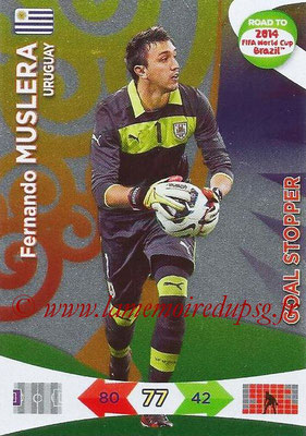 2014 - Panini Road to FIFA World Cup Brazil Adrenalyn XL - N° 220 - Fernando MUSLERA (Uruguay) (Goal Stopper)