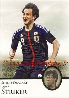 2013 - Futera World Football Unique - N° 086 - Shinji OKAZAKI (Japon) (Striker)