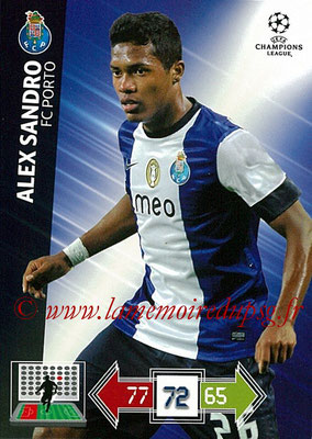 2012-13 - Adrenalyn XL champions League N° 194 - Alex SANDRO (FC Porto)