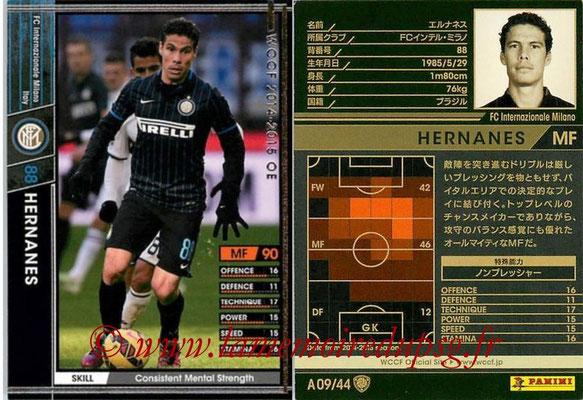 2013-14 - WCCF - N° A09 - HERNANES (FC Inter Milan)
