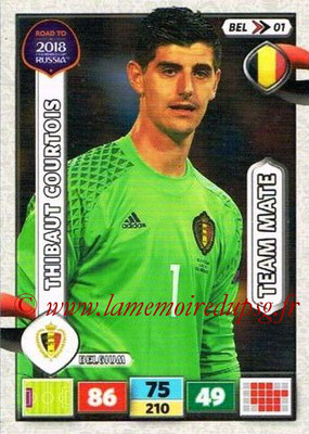 2018 - Panini Road to FIFA World Cup Russia Adrenalyn XL - N° BEL01 - Thibaut COURTOIS (Belgique)