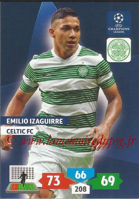 2013-14 - Adrenalyn XL champions League N° 110 - Emilio IZAGUIRRE (Celtic FC)