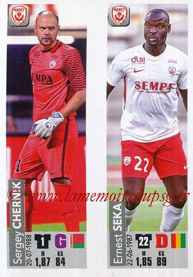 2018-19 - Panini Ligue 1 Stickers - N° 544 - Sergey CHERNIK + Ernest SEKA (AS Nancy Lorraine)