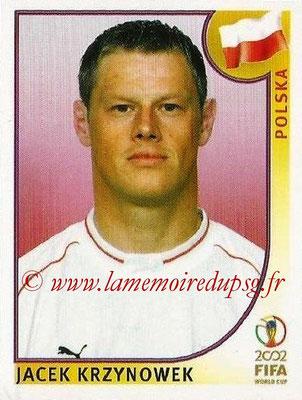 2002 - Panini FIFA World Cup Stickers - N° 268 - Jacek KRZYNOWEK (Pologne)