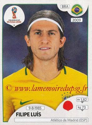 2018 - Panini FIFA World Cup Russia Stickers - N° 358 - Filipe LUIS (Bresil)