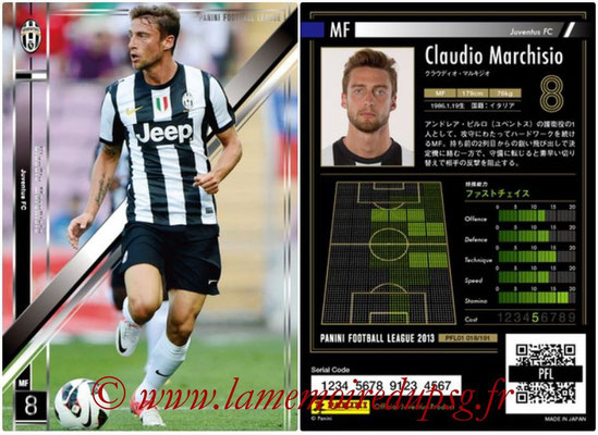 Panini Football League 2013 - PFL01 - N° 018 - Claudio Marchisio ( Juventus FC )