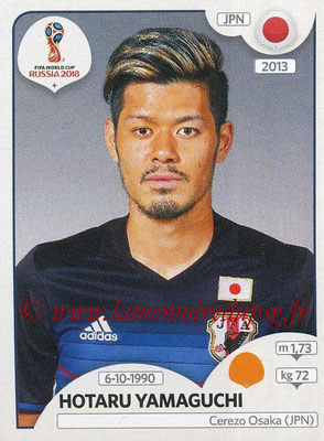 2018 - Panini FIFA World Cup Russia Stickers - N° 662 - Hotaru YAMAGUCHI (Japon)