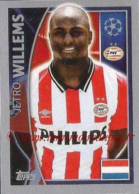 2015-16 - Topps UEFA Champions League Stickers - N° 094 - Jetro WILLEMS (PSV Eindhoven)