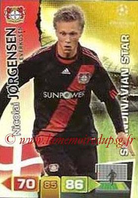 2011-12 - Panini Champions League Cards - N° 357 - Nicolai JORGENSEN (Bayer 04 Leverkusen) (Scandinavian Star)