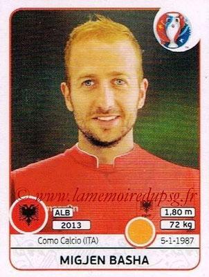 Panini Euro 2016 Stickers - N° 078 - Migjen BASHA (Albanie)