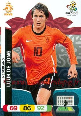 Panini Euro 2012 Cards Adrenalyn XL - N° 149 - Luuk DE JONG (Pays-Bas)