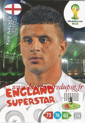 2014 - Panini FIFA World Cup Brazil Adrenalyn XL - N° 133 - Kyle WALKER (Angleterre)