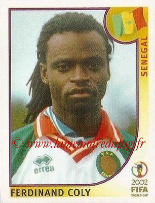 2002 - Panini FIFA World Cup Stickers - N° 049 - Ferdinand COLY (Sénégal)