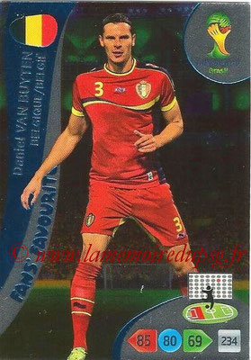 2014 - Panini FIFA World Cup Brazil Adrenalyn XL - N° 327 - Daniel VAN BUYTEN (Belgique) (Fan's favorite)