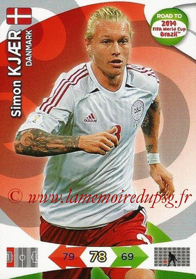 2014 - Panini Road to FIFA World Cup Brazil Adrenalyn XL - N° 039 - Simon KJAER (Danemark)