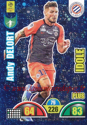 2018-19 - Panini Adrenalyn XL Ligue 1 - N° 512 - Andy DELORT (Montpellier) (Idole Plus)