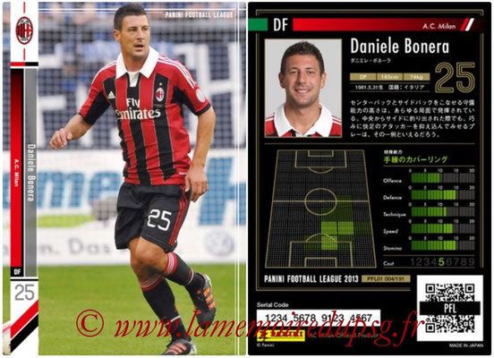 Panini Football League 2013 - PFL01 - N° 004 - Daniele Bonera ( A.C. Milan )