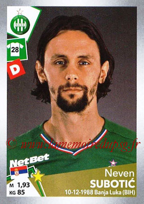 2017-18 - Panini Ligue 1 Stickers - N° T30 - Neven SUBOTIC (Saint-Etienne) (Transfert)