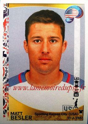 Panini Copa America Centenario USA 2016 Stickers - N° 021 - Matt BESLER (USA)
