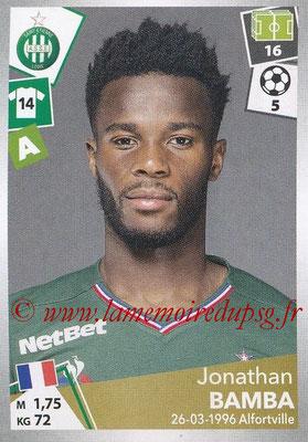 2017-18 - Panini Ligue 1 Stickers - N° 431 - Jonathan BAMBA (Saint-Etienne)