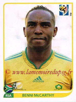 2010 - Panini FIFA World Cup South Africa Stickers - N° 046 - Benni McCARTHY(Afrique du Sud)